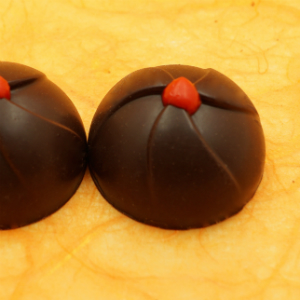 dark chocolate and cherry