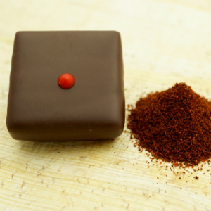 dark chocolate with chipotle mild pepper