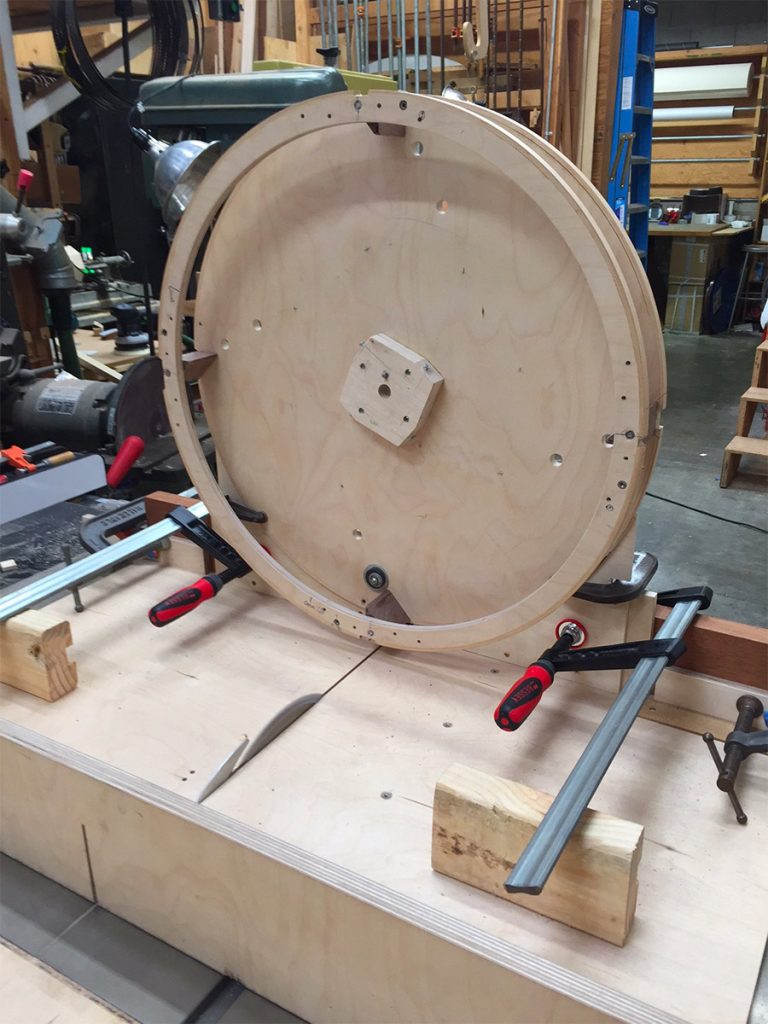 Awkward table saw process but doable