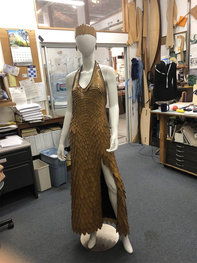 Oak dress complete